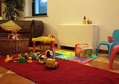 ristorante con area bambini