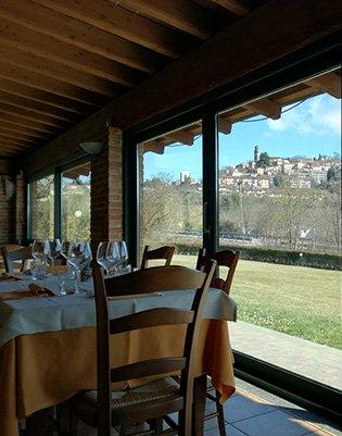 ristorante con cantina vini monferrato