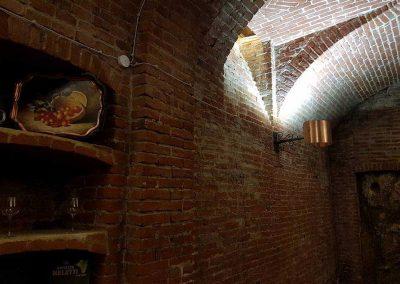 ristorante con cantina nel monferrato
